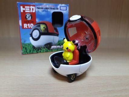 Pokemon Pikachu & Monster Ball Car