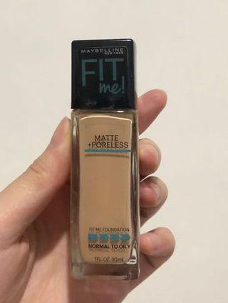70% Maybelline Fit Me Foundation 120 Classic Ivory