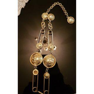 Auth versace necklace
