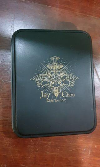 Jay Chou World Tour 2007 ring with his signature
