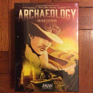 Archaeology The New Expedition card game