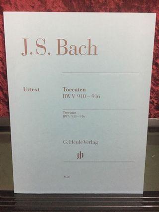 J.S. Bach Toccatas BWV 910 - 916