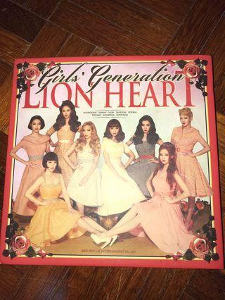 SNSD ALBUM lion heart