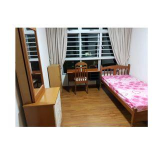 Near Clementi MRT! Common room at 440c clementi avenue 3 for rent! Aircon wifi!