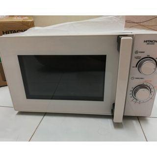 Hitachi HMR-M2001 20L Microwave Oven (New) #EST50