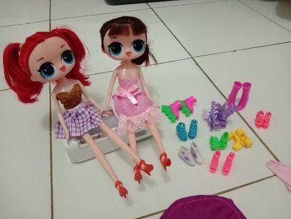Boneka barbie Lol