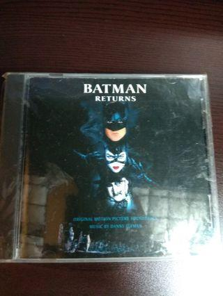 Batman retuen soundtrack