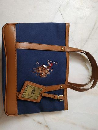 US Polo leather bag