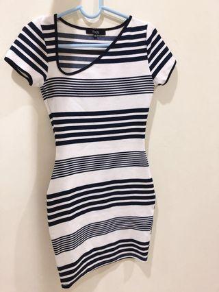 MDS stripe dress