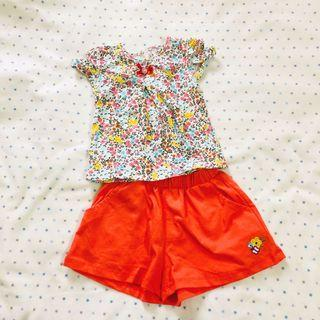 Baby floral set