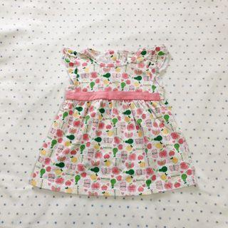 Printed baby dress