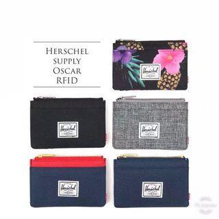 Herschel Supply Oscar 拉鍊卡包
