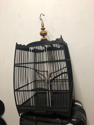 Black Penang bird cage