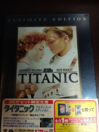 Titanic dvd japanese version