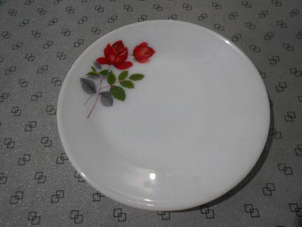 🚚 Vintage June Rose Large Flat Plate