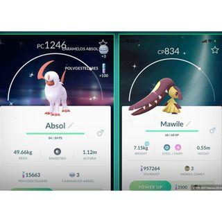 SHINY ABSOL / MAWILE Pokemon Go