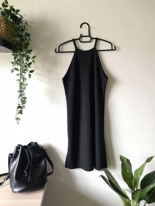 Topshop Halter Mini Dress