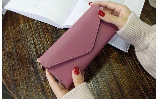 (NEW) Dark Pink Wallet