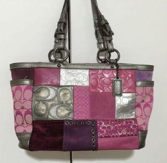 Coach Patchwork bag