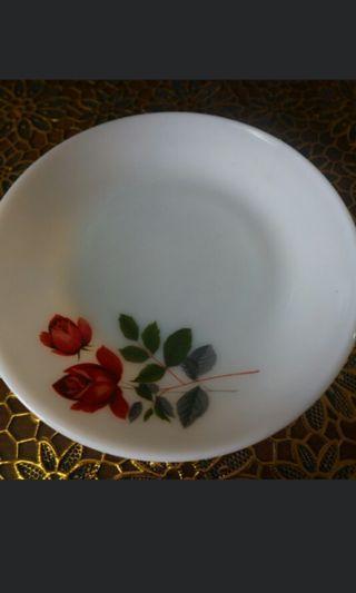 🚚 Vintage June Rose Saucer