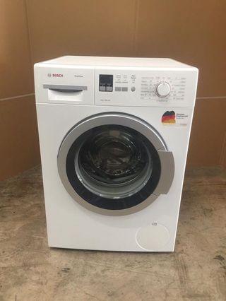 Bosch front load washer 8kg $400