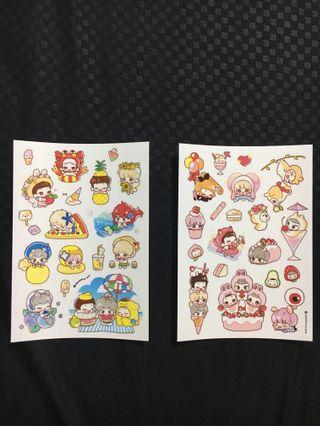 CBX Fanart Stickers