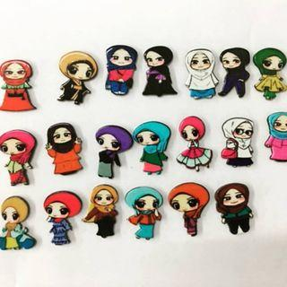 Muslimah brooch  New arrival  Preorder only 1 week  Pm for more details