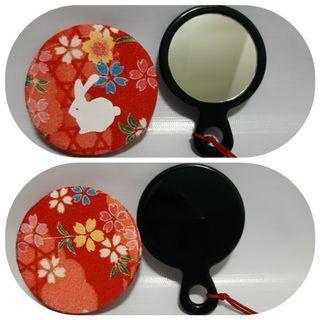 Kaca cermin make up/souvenir Japan
