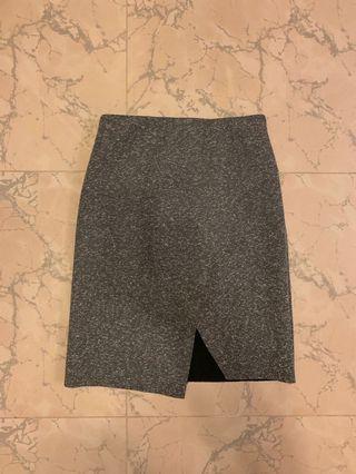 Topshop bobbly grey sporty skirt 灰色短裙