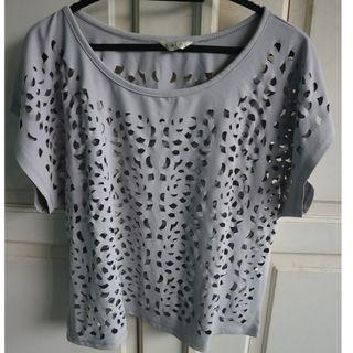 $ Kalea Top in Grey