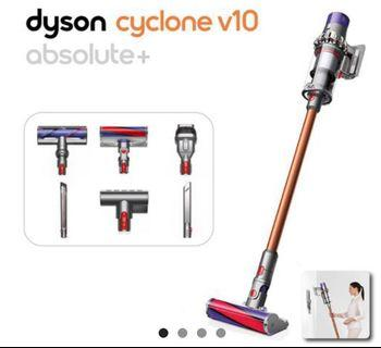 🆕Dyson Cyclone V10 Absolute+ Absolute plus (sealed)