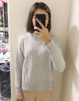 H&M灰色針織top