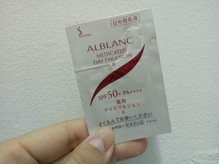 🚚 蘇菲娜SOFINA 潤白美膚 盈透UV防護乳II 升級版 試用包