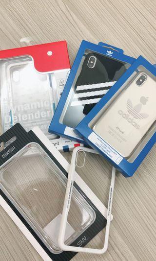 🚚 Adidas經典款手機殼、贈送透明手機殼 IPhone XS iPhone x