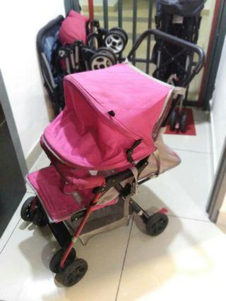 Stroller FREE with baby carrier