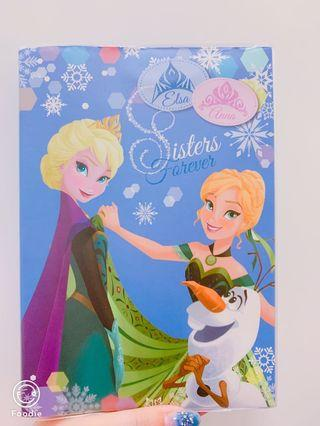 Frozen筆記簿