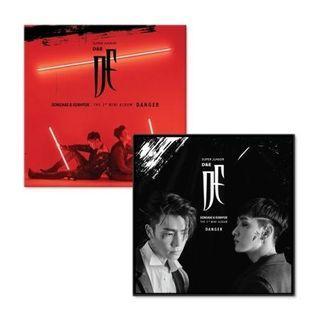 [Kihno] Super Junior Donghae & Eunhyuk D&E 3rd Mini Album Danger + Booklet + Photocard + Poster