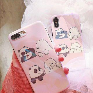PO We Bare Bears Phone Case