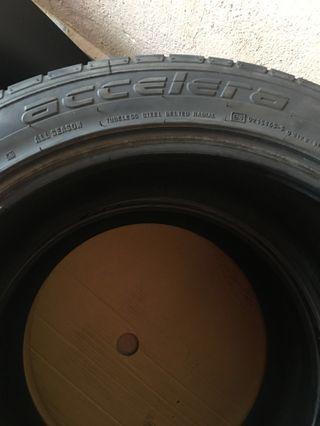 Vellfire Alphard 245 45 19 Tyre Tayar 245/45/19