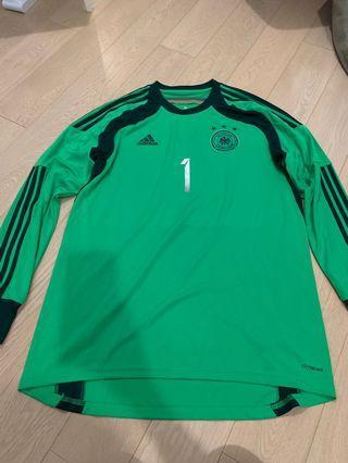 Germany GK shirt w/ Neuer #1