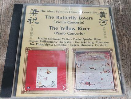 黃河梁祝日版cd