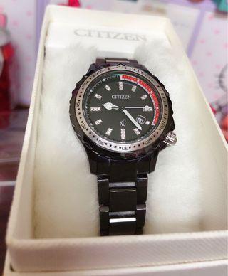 🔥CITIZEN 星辰錶xc 光動能 潛水錶 錶面施華洛世奇水晶