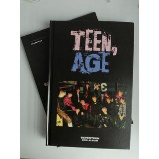 SVT OFFICIAL TEEN,AGE ALBUM