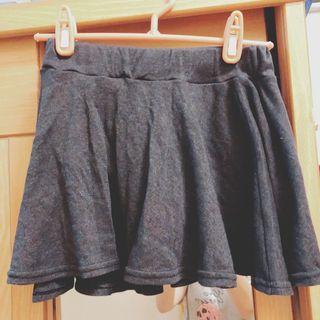 🚚 鐵灰棉質短裙(內有短褲)#半價衣服拍賣會