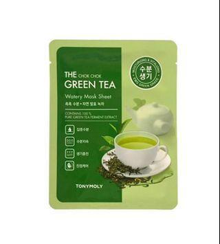 TONYMOLY The Chok Chok Green Tea Watery Mask Sheet