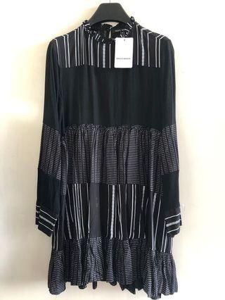 🌀全新特價🌀Zara同款拼接層次連身裙