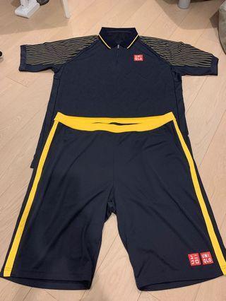 Djokovic x Uniqlo Australian Open set size XL