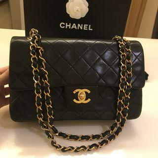 7dd921266e6d Authentic Full Set Chanel Classic lambskin double flap bag in GHW