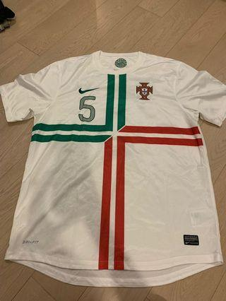 Portugal Away Shirt with 5 Contreao