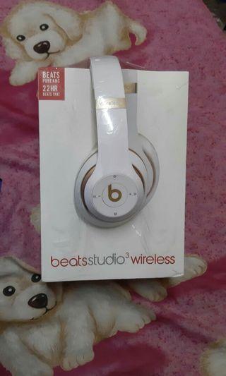 Headsets beatsstudio3 wireless